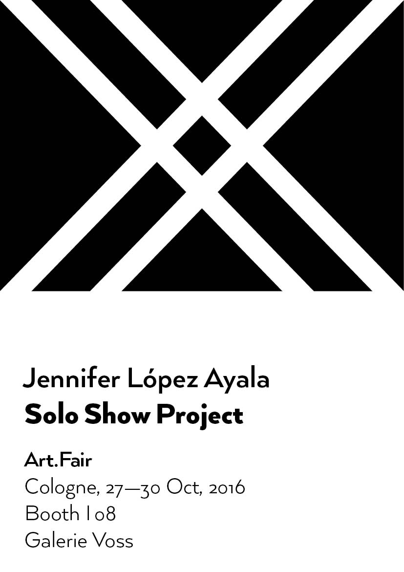 Jennifer López Ayala Solo Show Project selected as Best Booth & Selected Hightlight at Art.Fair Cologne 2016 by Widewalls